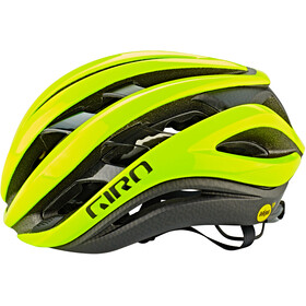 Giro Aether MIPS Casque, highlight yellow/black